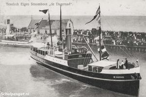 Dageraad (1908) – Eigen stoomboot Texel