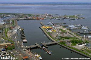 Den Helder – Luchtfoto uit 1993