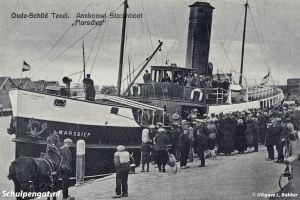 Marsdiep (1926) – Aankomst op Texel