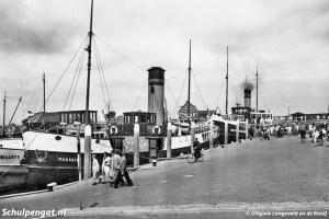 Marsdiep (1926) – TESO-vloot in Oudeschild