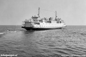 Proefvaart Marsdiep vertrek Texel