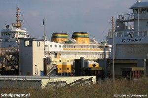 Molengat & Schulpengat in de veerhaven