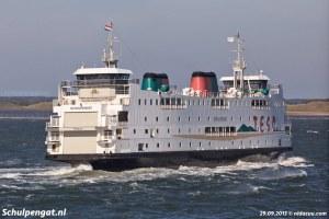 De ferry Schulpengat in 2013