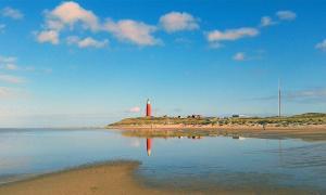 Vuurtoren Texel met strand