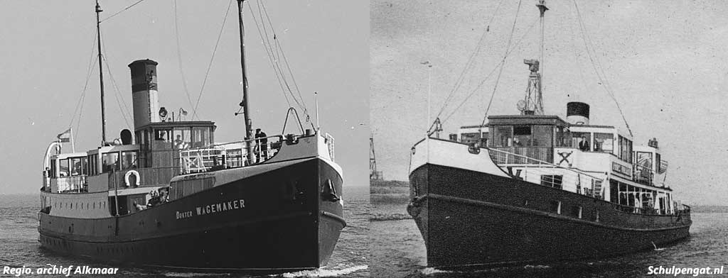 Dokter Wagemaker (1934) en Prins Willem I (1933)