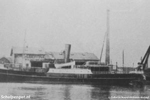 Afbouw van de eerste TESO-boot