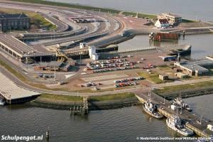 TESO-aanlegplaats Den Helder in april 1988