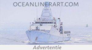 Advertentie-Ocean-Liner-Art-marine-Holland-klasse