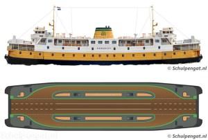 Veerboot TESO Marsdiep (1964)