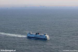 Eenzaam op de Noordzee