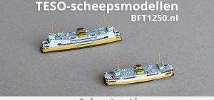 TESO-scheepsmodellen van BFT1250.nl