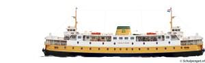 Zijaanzicht TESO-veerboot Texelstroom (1966)