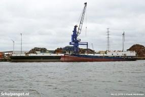 Op vrijdag 8 februari 2019 is er weinig meer over van wat ooit het vlaggenschip van TESO was.