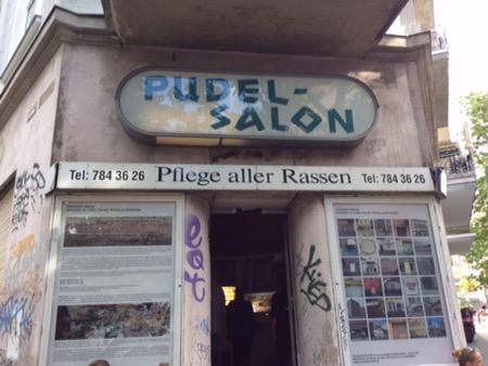 Ausstellung im Pudel Salon