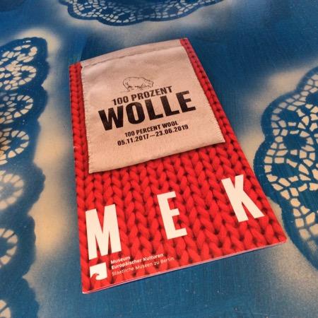 100 Prozent Wolle im MEK