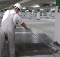 Coating aanbrengen betonvloer