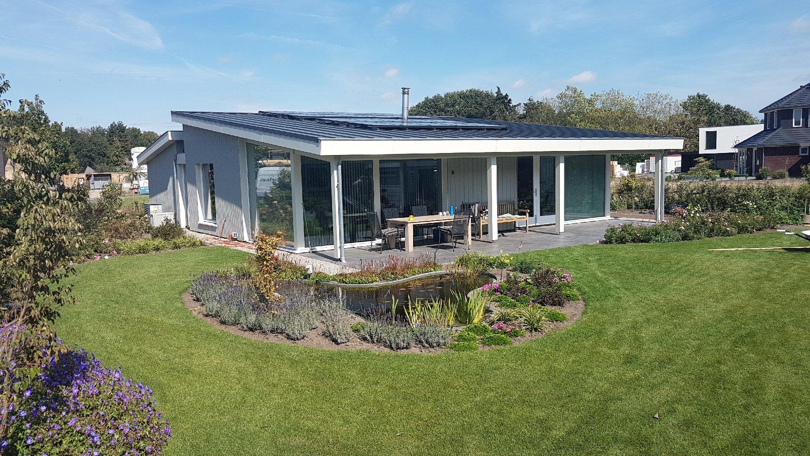 Luxe pensioen bungalow  KS220  Schuurwoning Bouwen