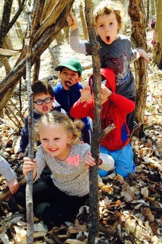 1_Nature Preschoolers spend 3 hours-day outdoors