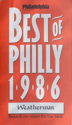 39_In 1986 Dick James recieved a Best of Philly Award for his weather reports
