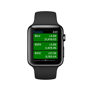 mobile stock trading app