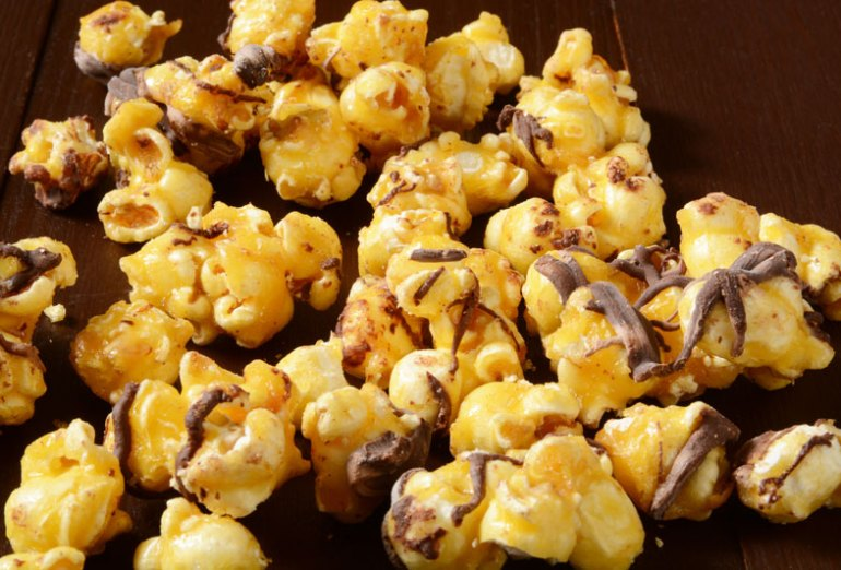 Chocolate Toffee Popcorn Recipe for Football Watch Party