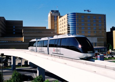 Clarian People Mover Gains Ground as New Indianapolis Icon