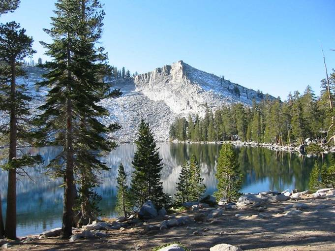 Ostrander Lake in Yosemite