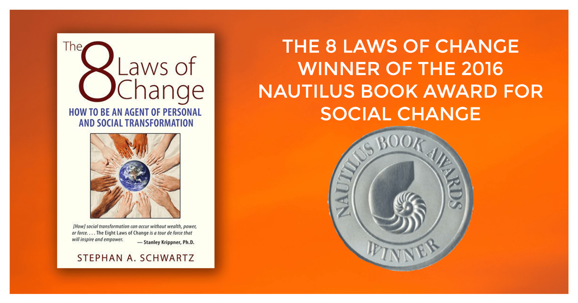 8 Laws of Change - Nautilus Award Winner for Social Change