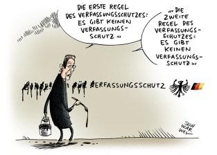 Afbeeldingsresultaat voor Maaßen cartoon