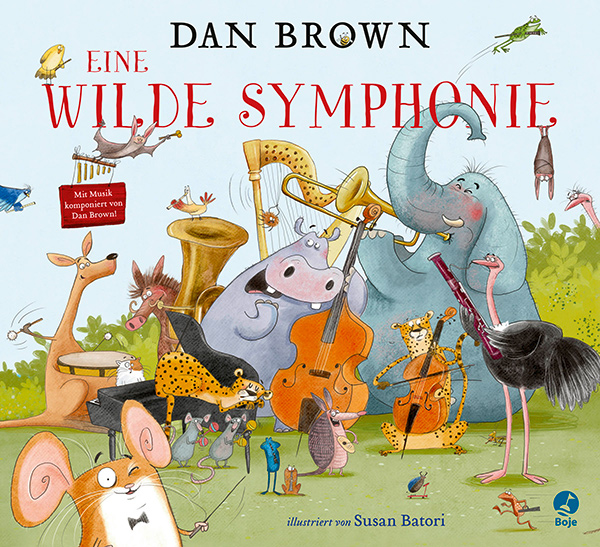 Cover Dan Brown Eine wilde Symphonie