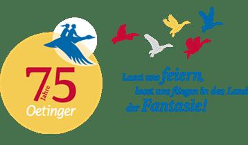 Banner 75 Jahre Oetinger