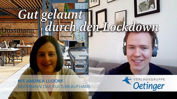 """""""Gut gelaunt durch den Lockdown"""" – Neue Interviewreihe gegen den Corona-Blues auf Oetinger-YouTube-Kanal"""