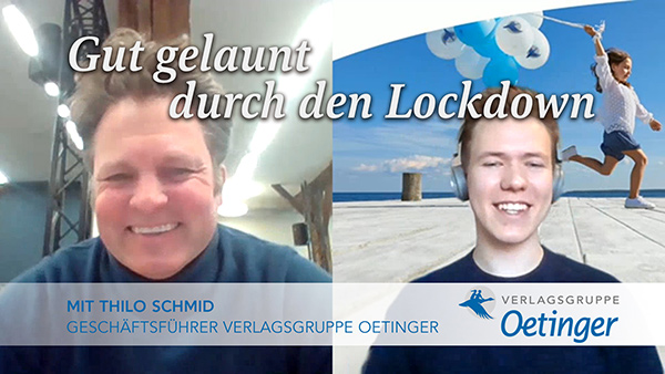 "Screenshot ""Gut gelaunt durch den Lockdown"" Folge 2 