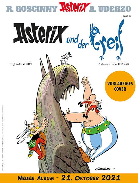 Cover: Asterix und der Greif | © Egmont Ehapa Media GmbH