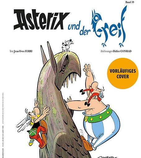 Neues Asterix-Abenteuer: Asterix und der Greif