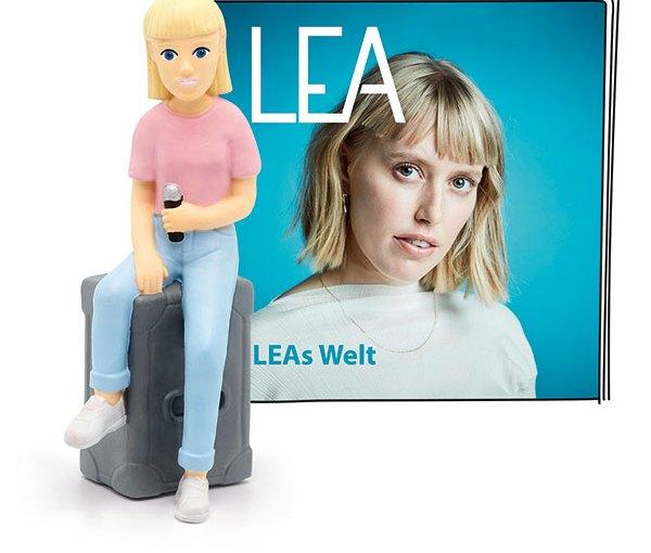 LEA singt jetzt auf der Toniebox