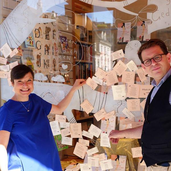 Lena Raubaum und Werner Riedmüller | © Tyrolia 2021