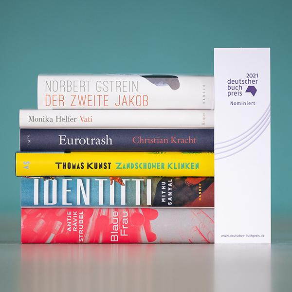 Deutscher Buchpreis 2021: Shortlist | © vntr.media