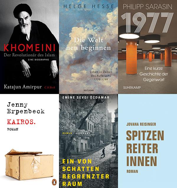 Bayrischer Buchpreis 2021: Alle nominierten Titel
