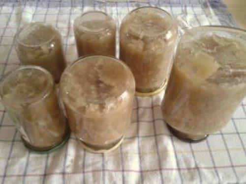 Für's Kartoffelpuffer Rezept Gläser umkippen