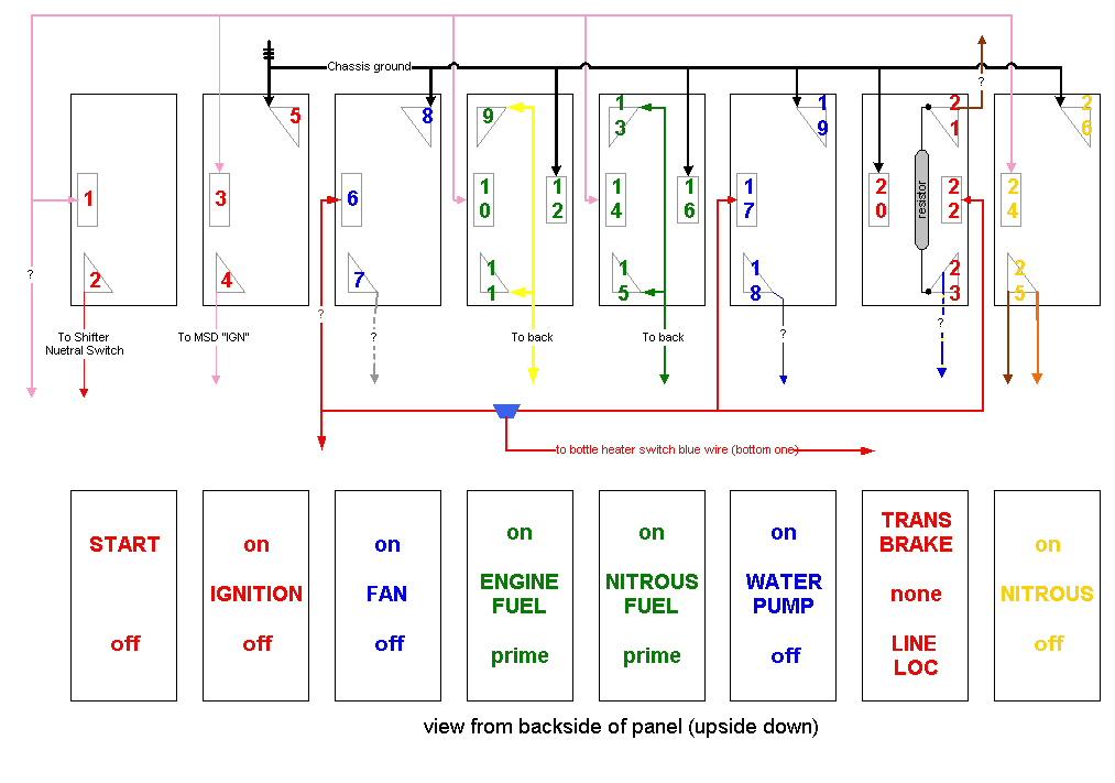 drag race car wiring diagram wiring wiring diagram
