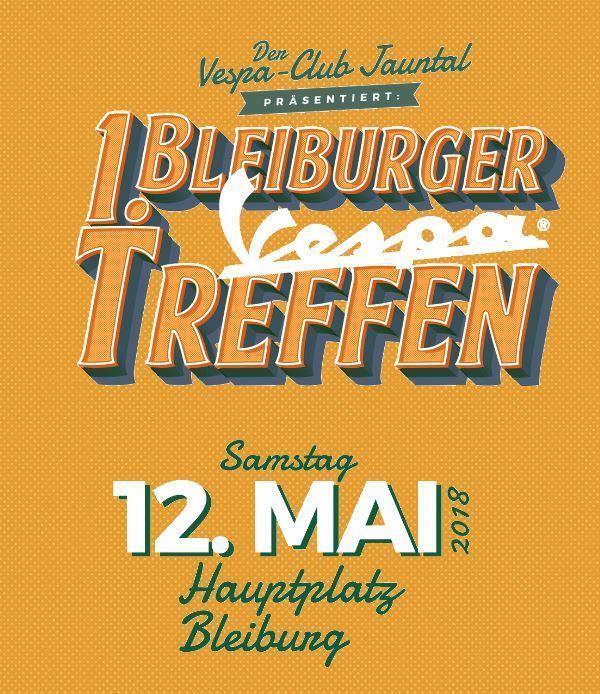 1. Bleiburger Vespatreffen 12.05.2018
