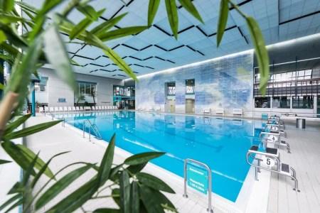 Indoor swimming pool in the Aquasol