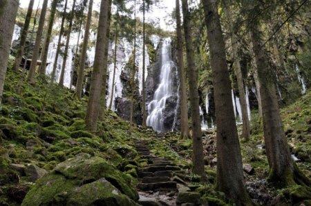 Burgbach Wasserfall