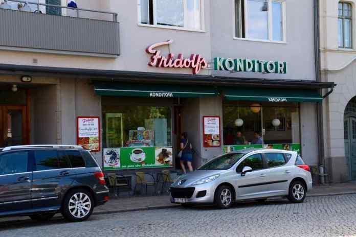 Legendär die Fridolfs Konditori. Hier trinkt Wallander Kaffee. (Foto Andrea Ullius)