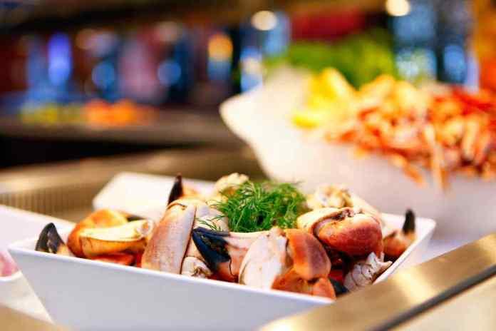 Auch das Essen auf See ist schmackhaft und abwechslungsreich. (Foto Stena Line)