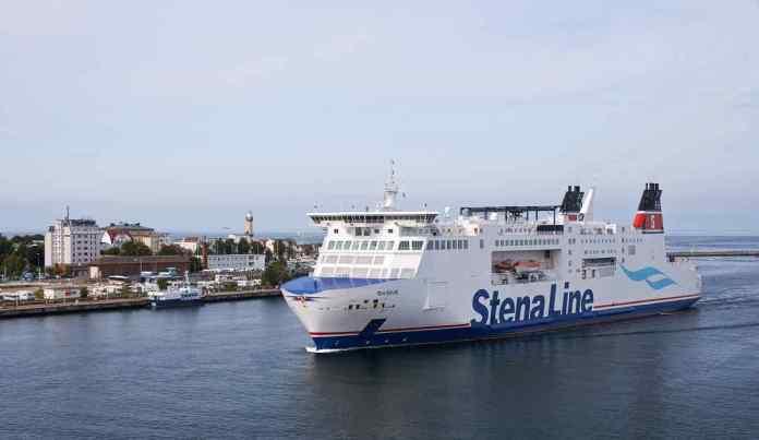 Die MS Skåne fährt von Rostock nach Trelleborg (Foto Stena Line)