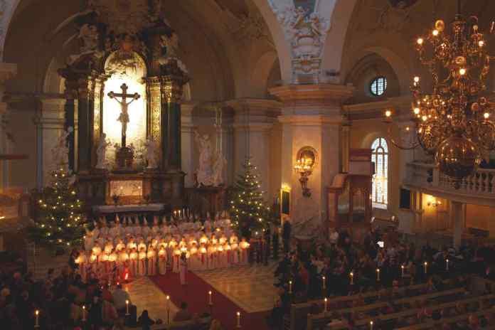 Luciafeste finden in vielen Orten in Schweden statt. (Foto: Ola Ericson/imagebank.sweden.se)