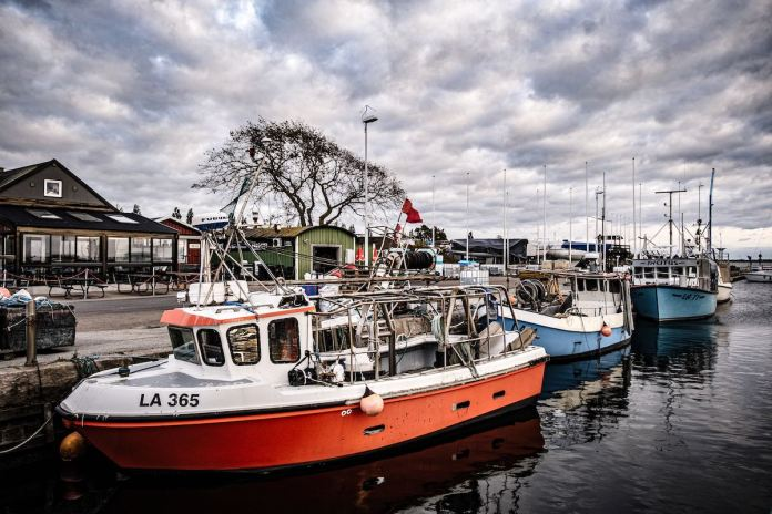 Landskrona Borstahusen Hafen
