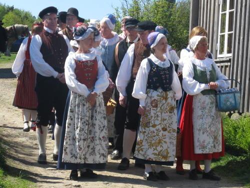 Eine Bauernhochzeit im Mai  Schwedentippsse